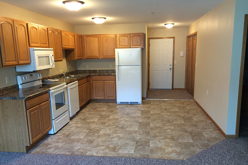 winona west apartments kitchen